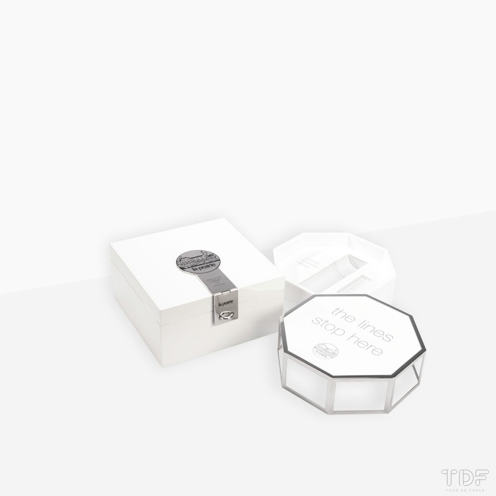 Deluxe Display Boxes_La Prairie_TDF_Tailormade Visual Merchandising Manufacturer