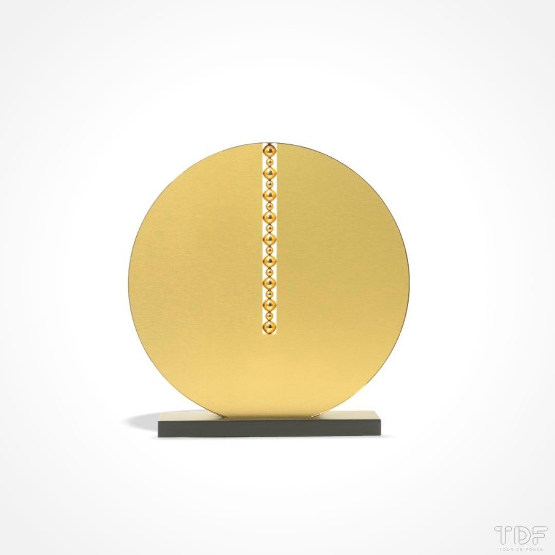 Round-Shape Display Unit,Espositore a forma rotonda, La Prairie_TDF_Visual Merchandising Storytelling Manufacturing