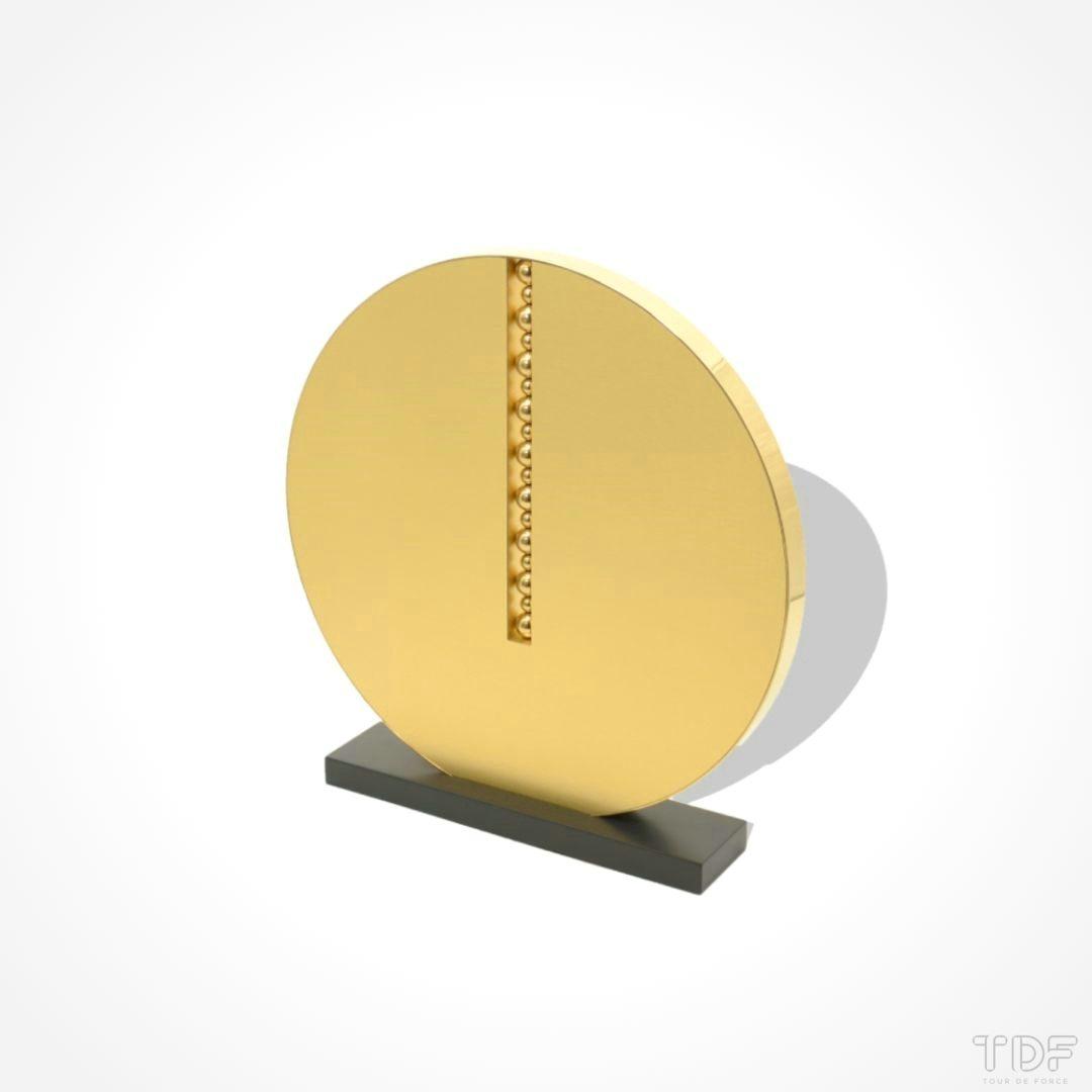 Round-Shape Display Unit,Espositore a forma rotonda,La Prairie_TDF_Visual Merchandising Storytelling Manufacturing
