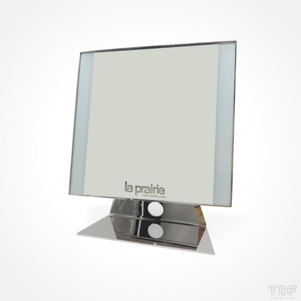 La Prairie Mirror Displays