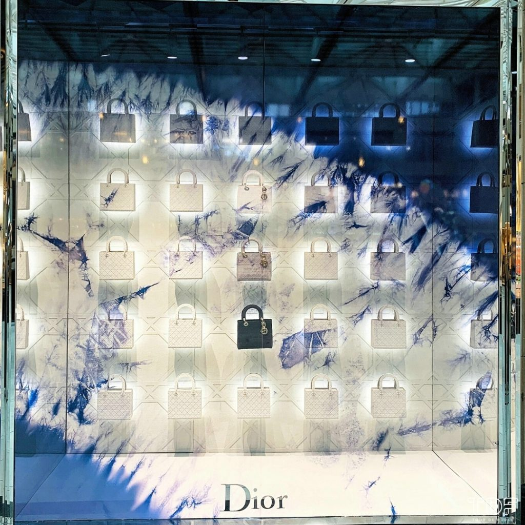 TDF_Visual Merchandising Storytelling Manufacturing Specialist_Dior Lady D-Lite_display windows