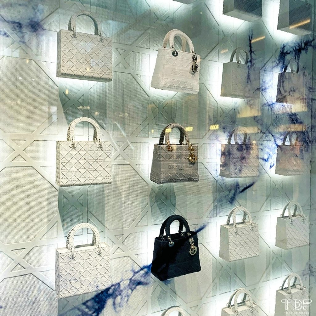TDF_Visual Merchandising Storytelling Manufacturing Specialist_Dior Lady D-Lite_luxury retail display props