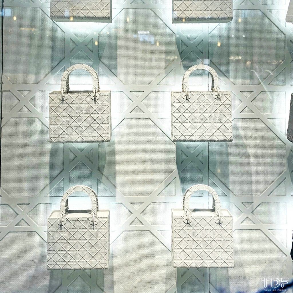 TDF_Visual Merchandising Storytelling Manufacturing Specialist_Dior Lady D-Lite_retail display props