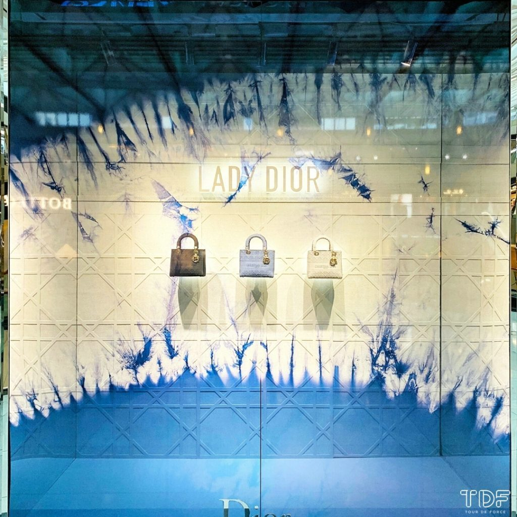 TDF_Visual Merchandising Storytelling Manufacturing Specialist_Dior Lady D-Lite_retail display windows