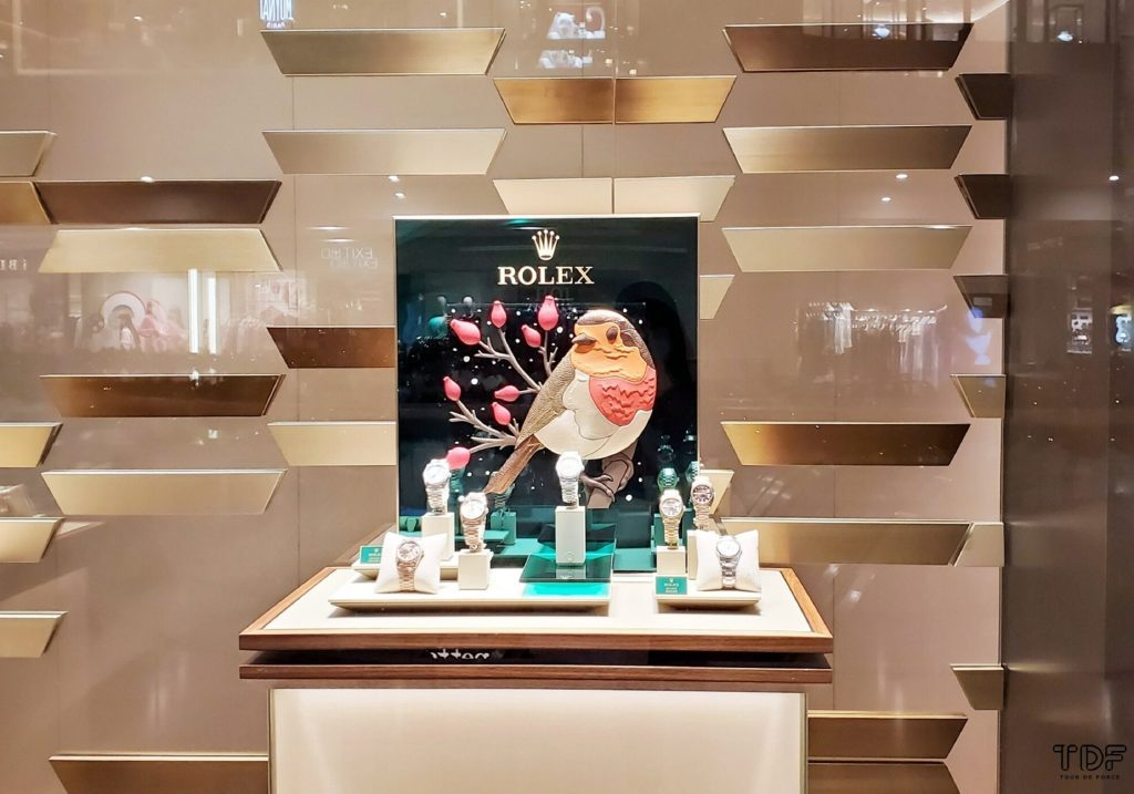 Christmas Store Windows_Rolex 2020_TDF_Visual Merchandising Manufacturer