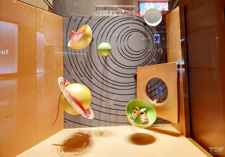Store Window Hermès, Window Display, TDF Visual Merchandising Production Manufacturer