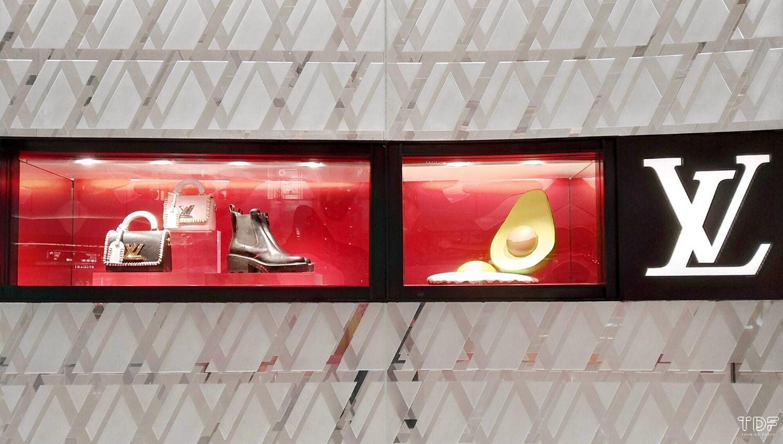 Store windows, Louis Vuitton - LV x UF Collection, window displays