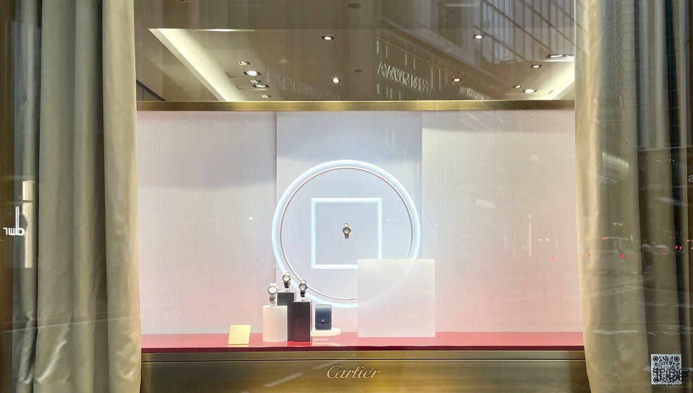 seasonal window scheme, window display, store window, visual merchandising production