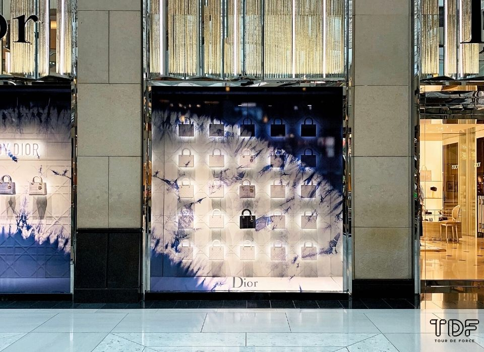 Chanel 橱窗展示, visual merchandising, In-store visual merchandising, visual merchandising production, visual merchandising manufacturer
