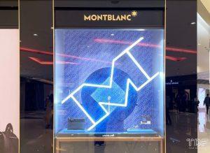 视觉营销, 奢侈品橱窗, 钟表橱窗道具, store windows, Montblanc, TDF Visual Merchandising Production