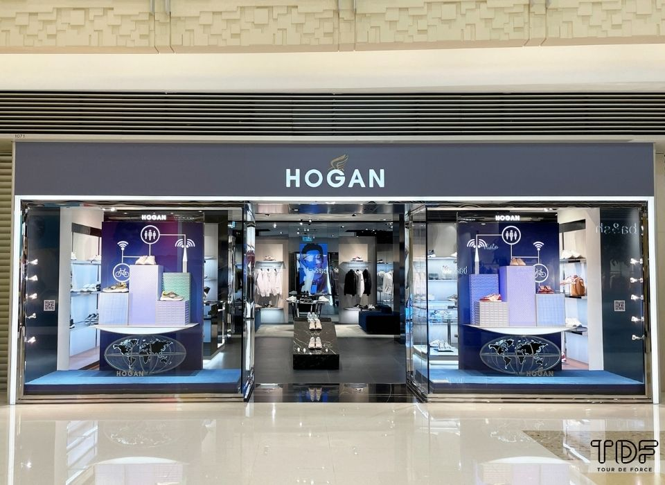 奢侈品橱窗, 视觉营销, Hogan SS21, store windows, Montblanc, TDF Visual Merchandising Production