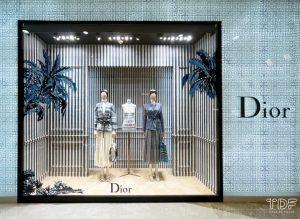奢侈品橱窗, 视觉营销, store windows, Christian Dior SS21, TDF Visual Merchandising Production