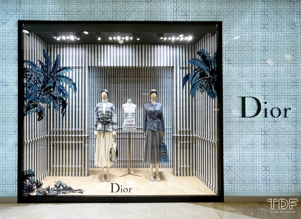 奢侈品橱窗, 视觉营销, store windows, Christian Dior SS21, TDF Visual Merchandising Production