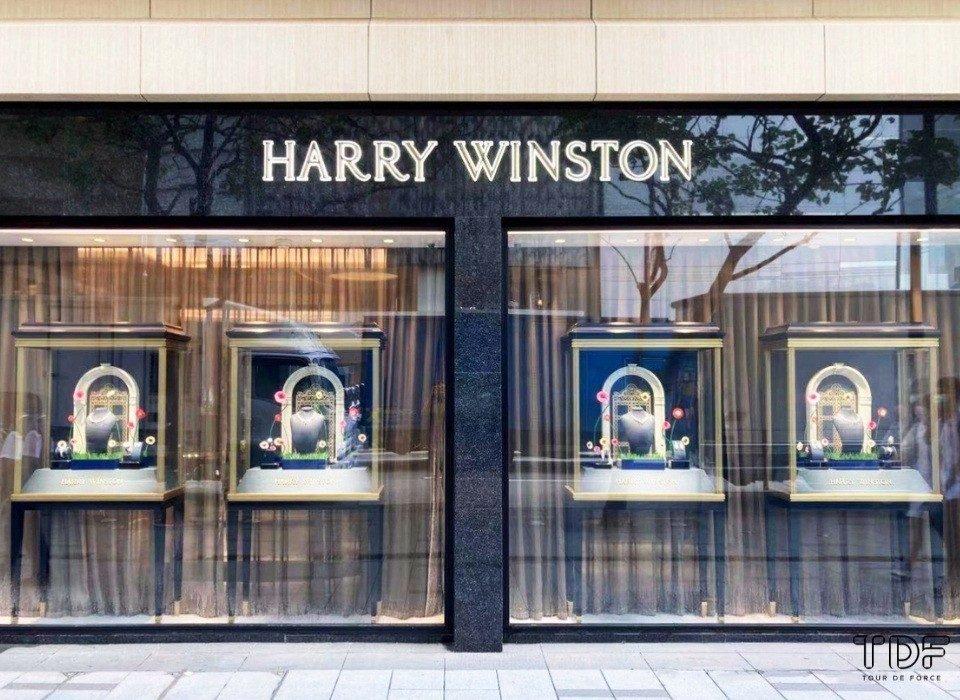 high-jewellery store windows, window display supplier, display unit supplier, TDF visual merchandising production