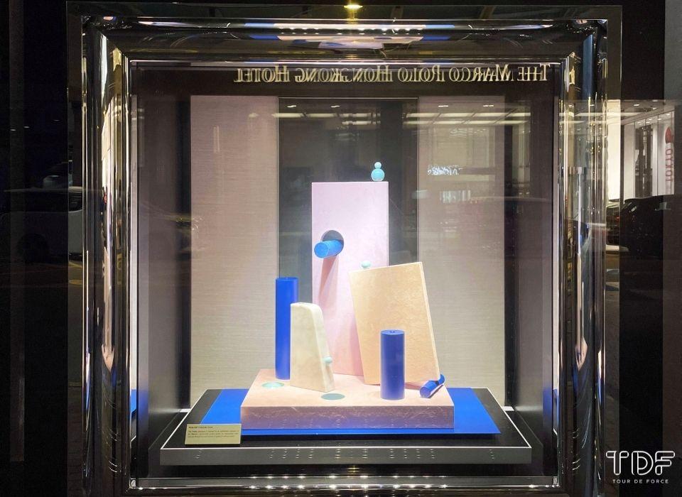 window display objects, fine jewellery store windows, TDF Visual Merchandising Production